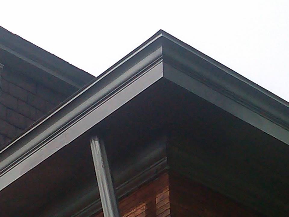 what the soffit looks like after completed