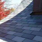 New Synthetic Slate Roof