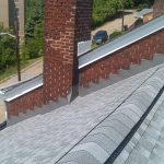 New Roof Ridge Vent and Flashings
