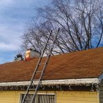 getting ready to start removing shingles