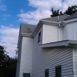 siding before